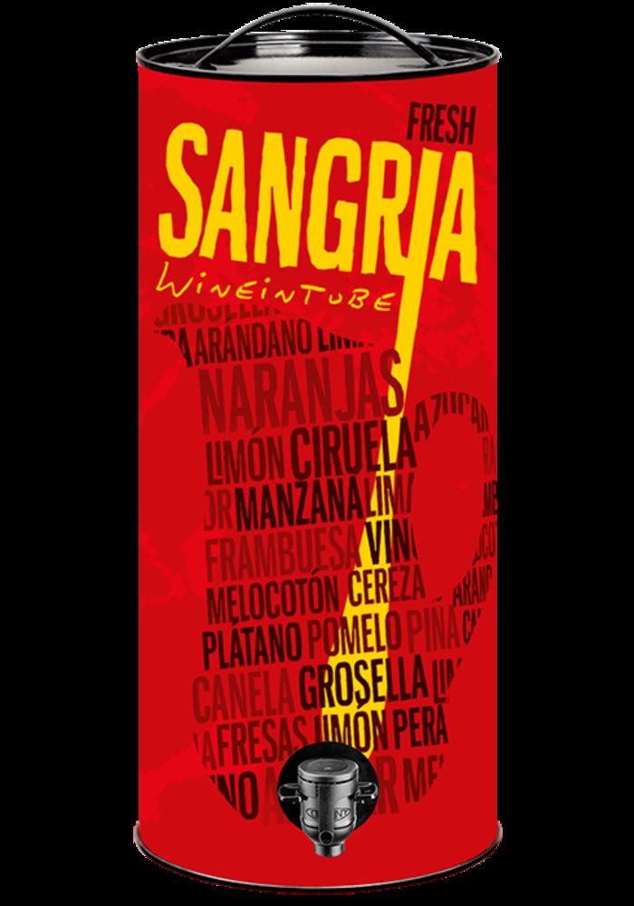 Sangria Wine In Tube 3 L 13°