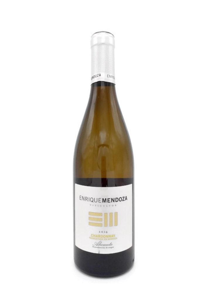 Enrique Mendoza Chardonnay Fermentado 2017