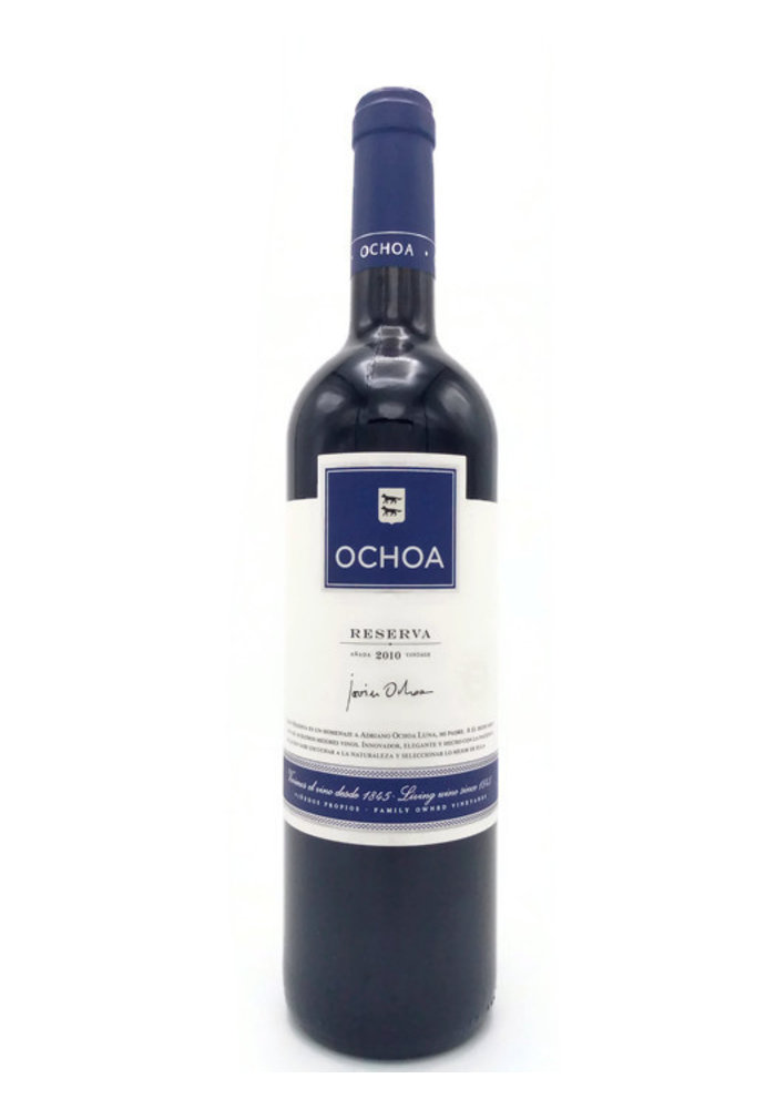 Ochoa Reserva 2012