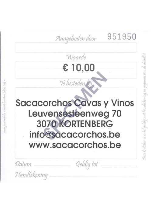 Divers Cadeaubon / Chèque-cadeau €10