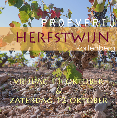Herfstproeverij te Kortenberg op 11 en 12 oktober 2019