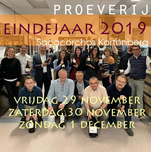 Eindejaarsproeverij te Kortenberg - 2019