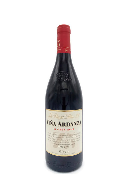 cavasYvinos Rioja Alta Vina Ardanza Reserva 2012