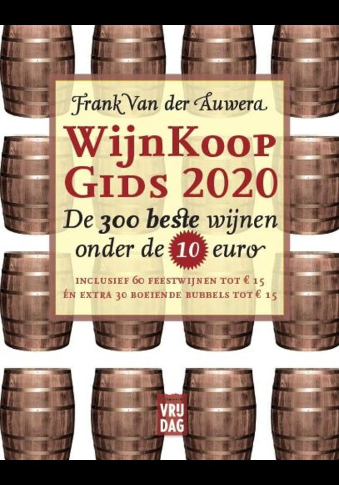 Wijnkoopgids 300 Beste Wijnen 2020 Frank Van der Auwera