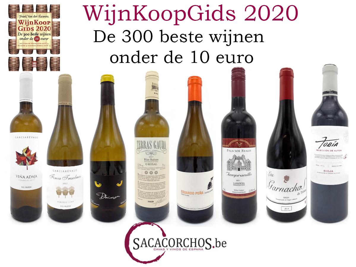 """Wijnkoopgids 2020 """"De 300 beste wijnen onder de 10 euro"""""""