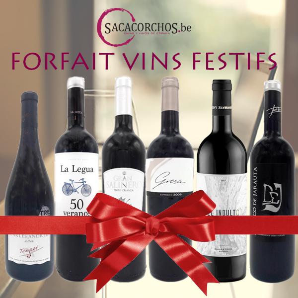 """Le forfait """"vins festifs"""""""