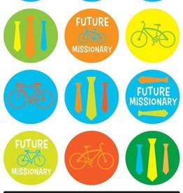 Future Missionary Stickers