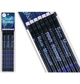 Cedar Fort Publishing Easy Grip Pencils-- Future Missionary