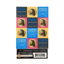 Cedar Fort Publishing Press forward in Christ stickers