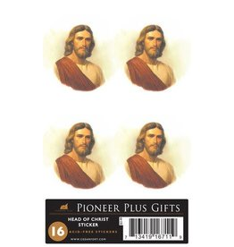 head of Christ stickers