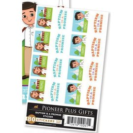 Cedar Fort Publishing Baptism is a promise stickers
