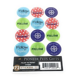 Cedar Fort Publishing Follow the Prophet stickers