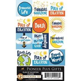 Cedar Fort Publishing Plan of Salvation stickers