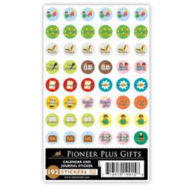 Cedar Fort Publishing Calendar and Journal stickers