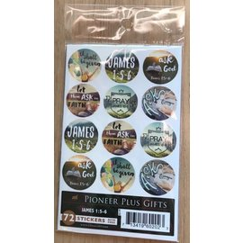 Cedar Fort Publishing James 1:5-6 stickers