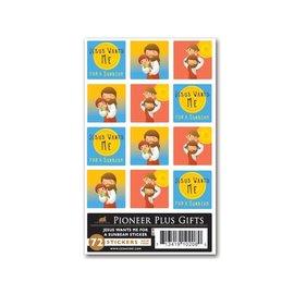 Cedar Fort Publishing Jesus wants me for a sunbeam stickers