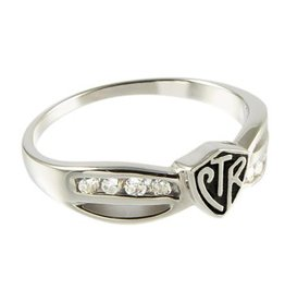 CTR Bow Antiqued Ring
