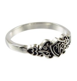 CTR, Filigree Antiqued Sterling Silver