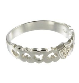 CTR, Forget-me-not Plain Sterling Silver