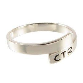 CTR Orbit Antiqued Ring