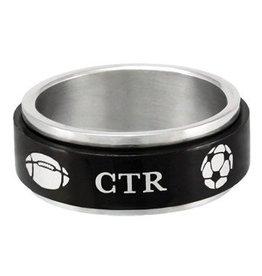 CTR Black Sports Spinner