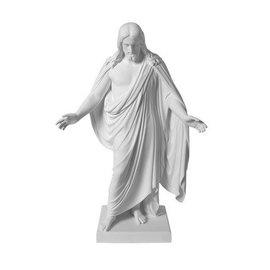 "Seagull Books 3"" Christus Marble Statue"
