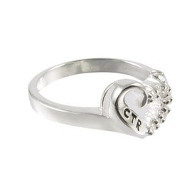 CTR Sweetheart Antiqued Ring