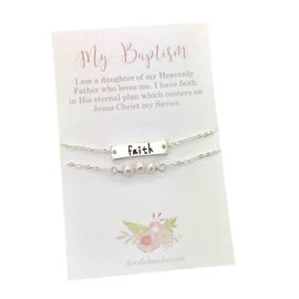 Faith Baptism Bracelet
