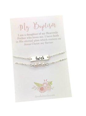 Faith Baptism Bracelet