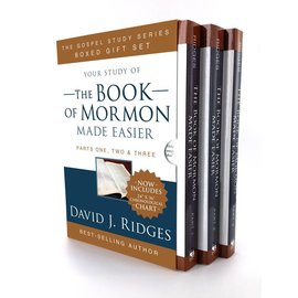 Cedar Fort Publishing Your study of The Book of Mormon Made Easier, Box Set, David J Ridges
