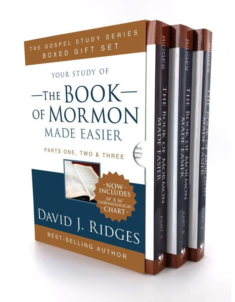 Your study of The Book of Mormon Made Easier, Box Set, David J Ridges