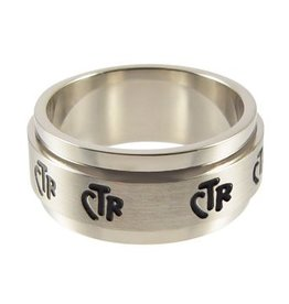 CTR, Spinner Wide Band Stainless Steel