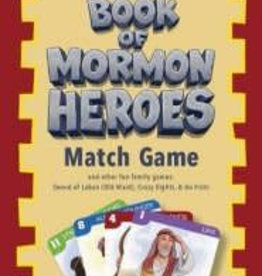 Book of Mormon Heroes Match Card Game, Janice Kapp Perry, Jared Beckstrand