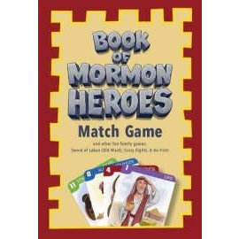 Covenant Communications Book of Mormon Heroes Match Card Game, Janice Kapp Perry, Jared Beckstrand