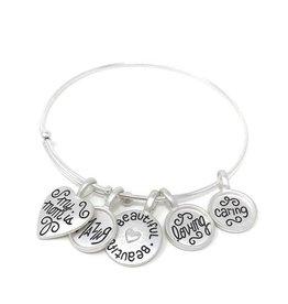 My loving mother charm bracelet