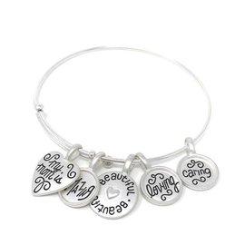 Cedar Fort Publishing My loving mother charm bracelet