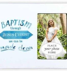 Made Clean Baptism Frame