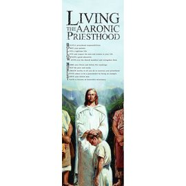Cedar Fort Publishing Living the Aaronic Priesthood Bookmark
