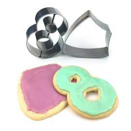 Cedar Fort Publishing Baptism Cookie Cutters Set (pack of 2)