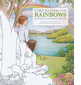 I Like to Look for Rainbows, Baptism Coloring Book.