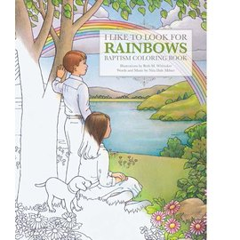 Covenant Communications I Like to Look for Rainbows, Baptism Coloring Book.