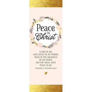 Covenant Communications Peace in Christ Bookmark