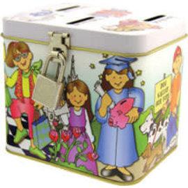 Covenant Communications Children's Metal Bank (Girl)