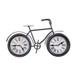Missionary Bicycle Clock (Black)