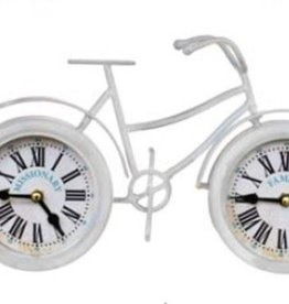 Missionary Bicycle Clock (White)