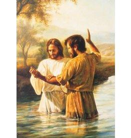 "My Baptismal Covenants, Greg Olsen, 3"" x 4"""