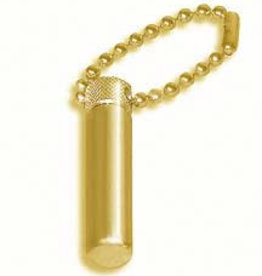 Oil Vial, Classic Gold