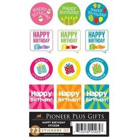 Cedar Fort Publishing Happy Birthday stickers