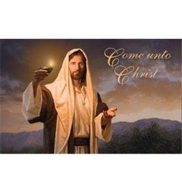 Come Unto Christ - Simon Dewey, (Recommend Holder)
