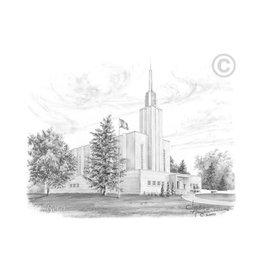 Bern Switzerland Temple - Chad Hawkins, Recommend Holder